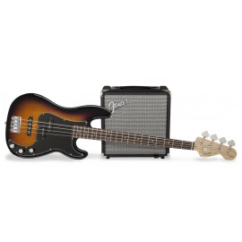 FENDER SQUIER PJ BASS PACK BROWN SUNBURST_набор_басгитарный_1