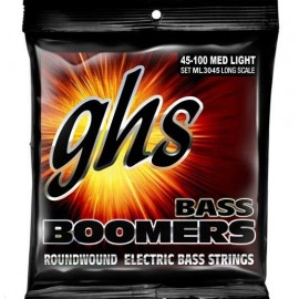 GHS STRINGS ML3045X BASS BOOMERS LONG Струны для бас-гитары